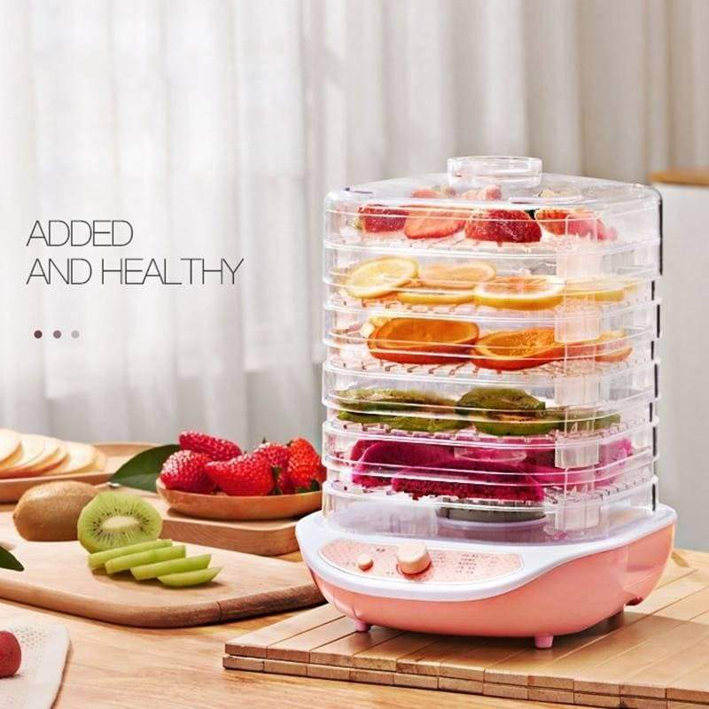 Food dehydrator - pink - home kitchen appliances
