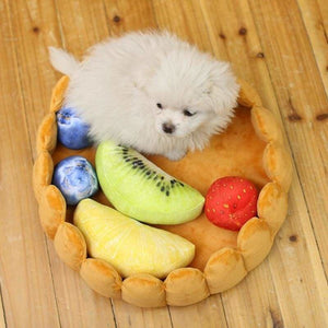 Fruit tart cat bed just for you - kennel - houses kennels &