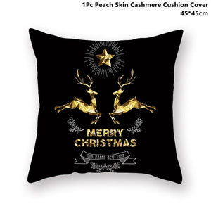 Gold black pillowcase - xmas 20 - 200223143 fast shipping