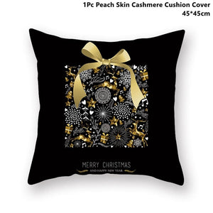 Gold black pillowcase - xmas 21 - 200223143 fast shipping