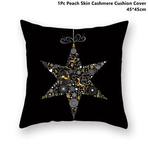 Gold black pillowcase - xmas 24 - 200223143 fast shipping