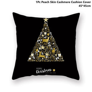 Gold black pillowcase - xmas 25 - 200223143 fast shipping