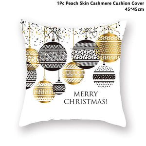 Gold black pillowcase - xmas 28 - 200223143 fast shipping