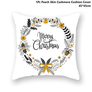 Gold black pillowcase - xmas 29 - 200223143 fast shipping
