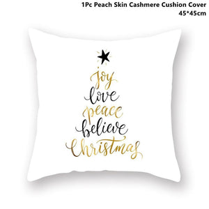 Gold black pillowcase - xmas 31 - 200223143 fast shipping