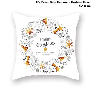 Gold black pillowcase - xmas 34 - 200223143 fast shipping