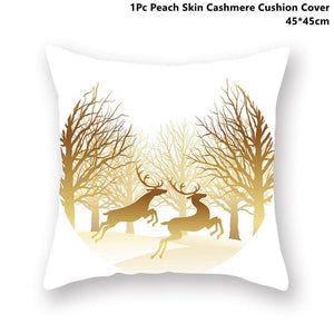 Gold black pillowcase - xmas 41 - 200223143 fast shipping
