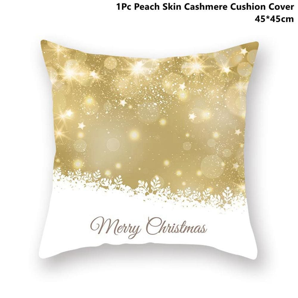 Gold black pillowcase - xmas 42 - 200223143 fast shipping