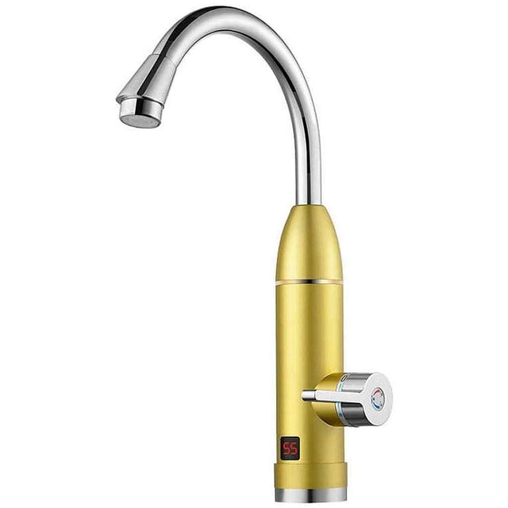 Hot water faucet - gold - home kitchen appliances