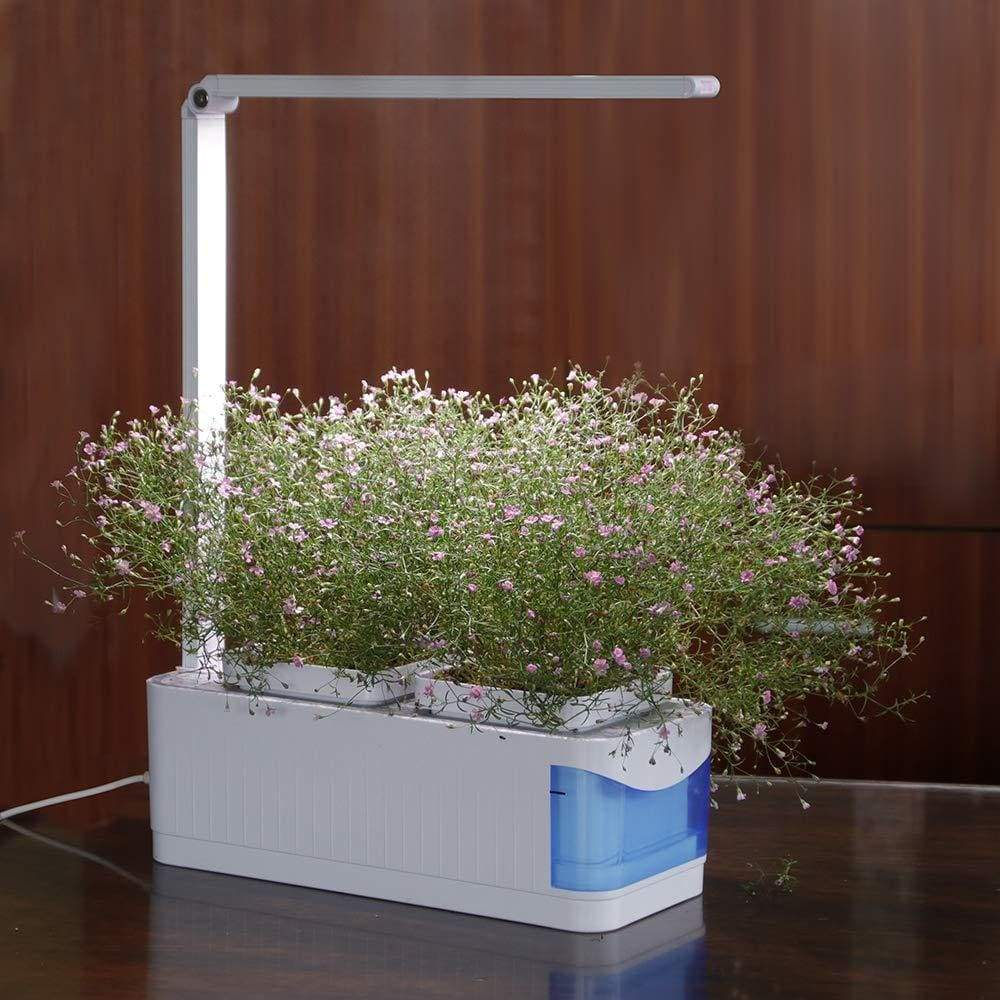 Indoor gardening hydroponics system - lamp with eu plug -
