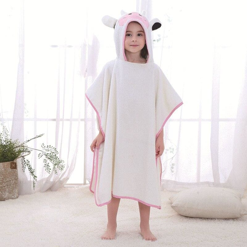 Kids bath towel - cow - baby&toddler clothing