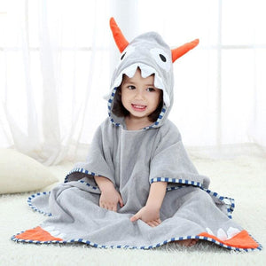 Kids bath towel - gray - baby&toddler clothing