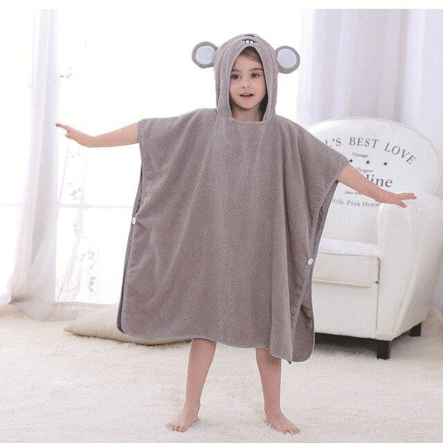 Kids bath towel - mouse - baby&toddler clothing