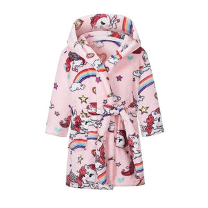 Kids rainbow bathrobe - lavender / 3t 90 - baby&toddler