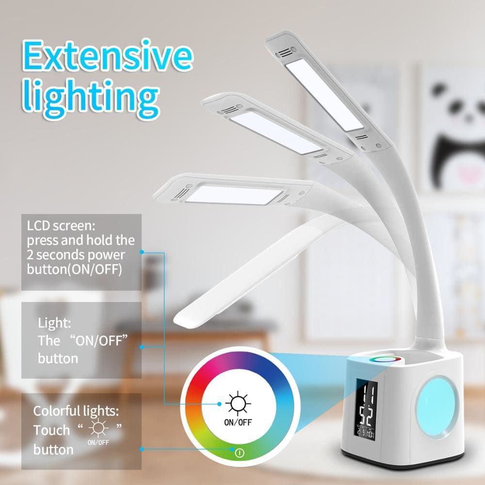 Led study desk lamp - 10w - led night lights