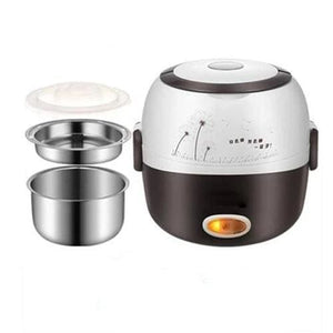 Meal cooker lunch box - 2 layers 110v - kitchen appliances