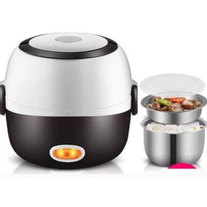Meal cooker lunch box - 2 layers 220v-240v - kitchen