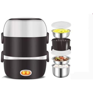 Meal cooker lunch box - 3 layers 220v- 240v - kitchen