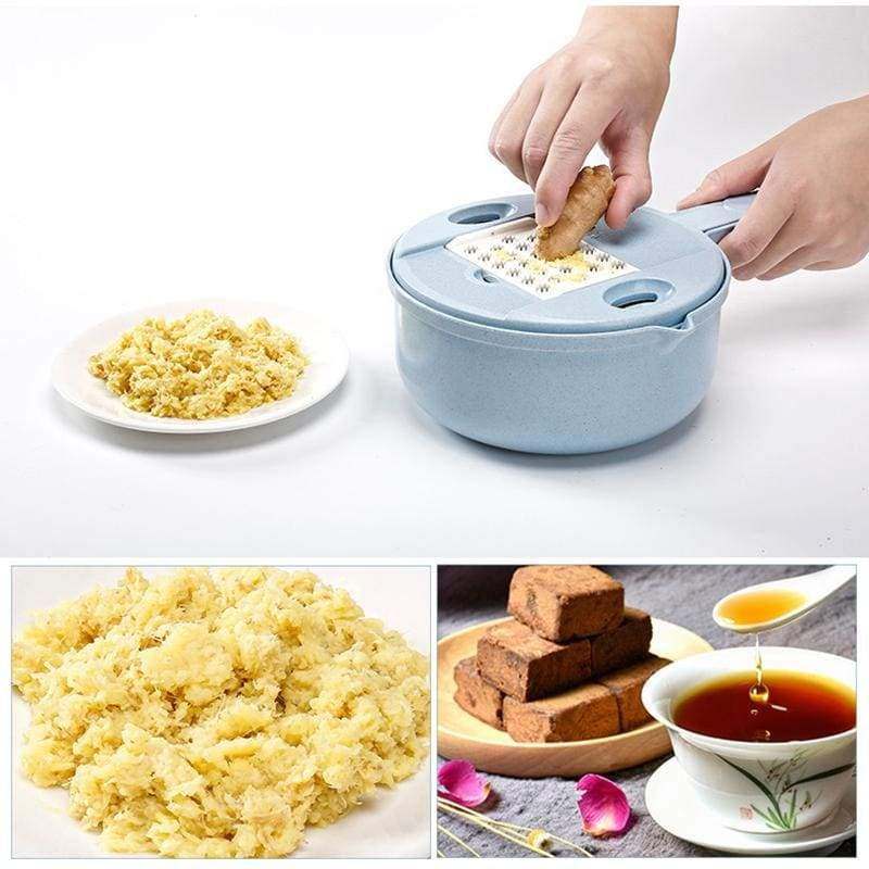 Multifunctional vegetable cutter and grater - kitchen