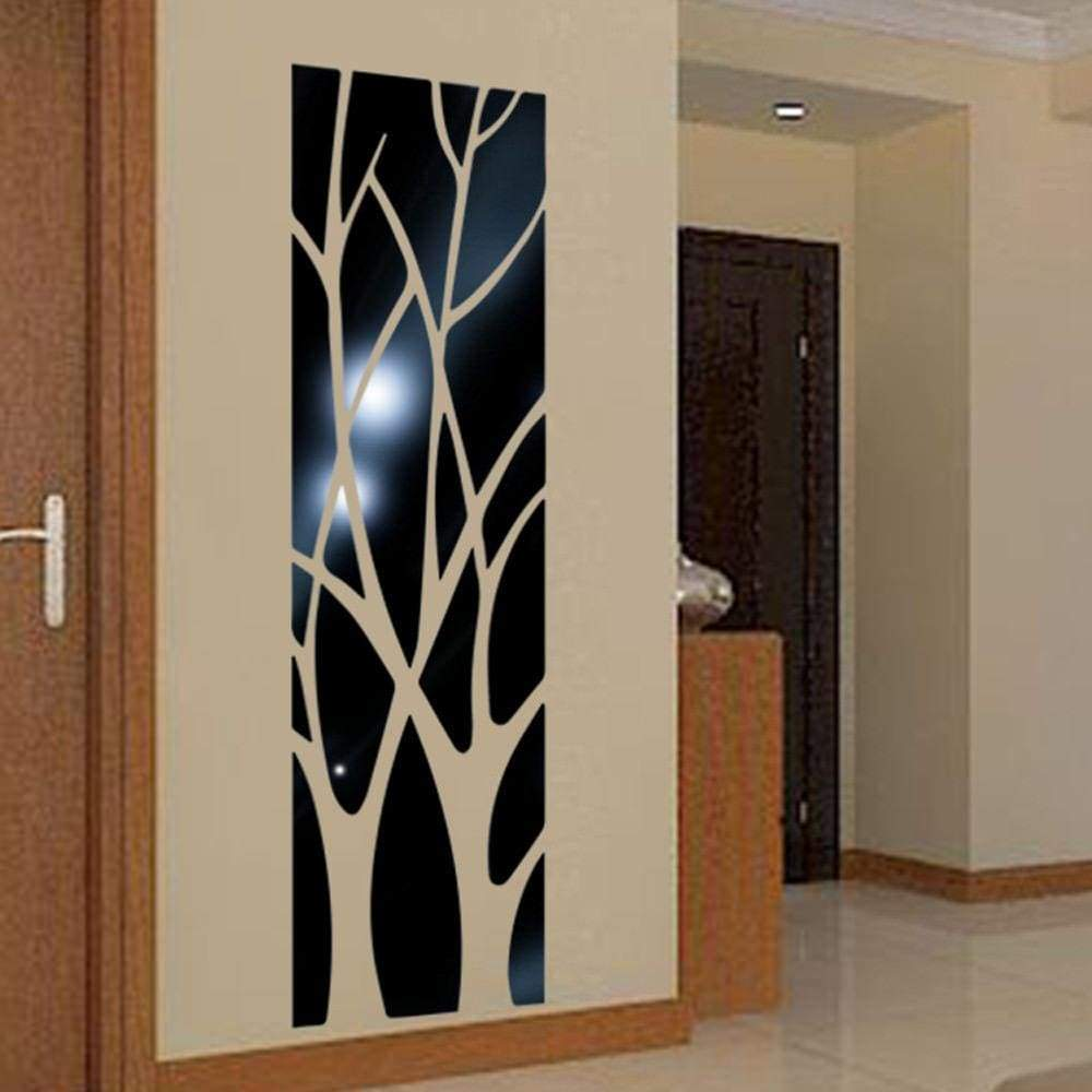 Mural wall sticker - black / 100x28cm - wall sticker 1