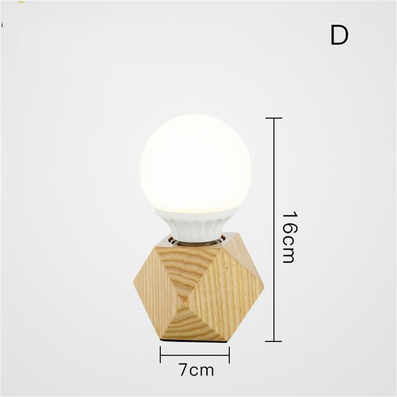 Nordic wood table lamp - a - light lamp2
