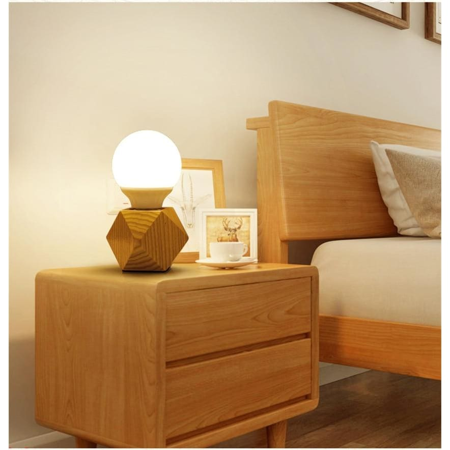Nordic wood table lamp - light lamp2