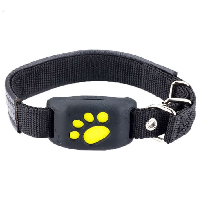 Pet collar gps tracker - black - dog accessories 2