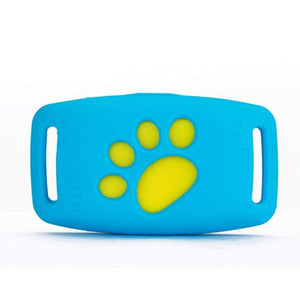 Pet collar gps tracker - blue - dog accessories 2