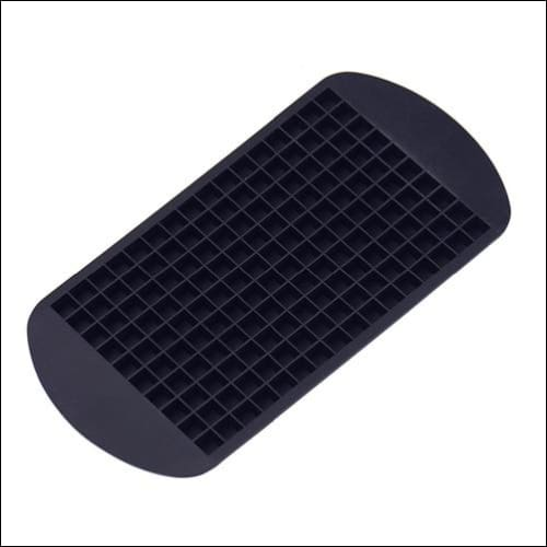 Silicone ice tray just for you - black - cube maker