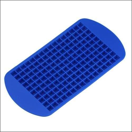 Silicone ice tray just for you - blue - cube maker