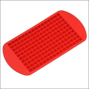 Silicone ice tray just for you - red - cube maker