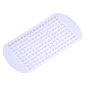 Silicone ice tray just for you - white - cube maker