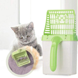 Smart cat litter scoop - & housebreaking
