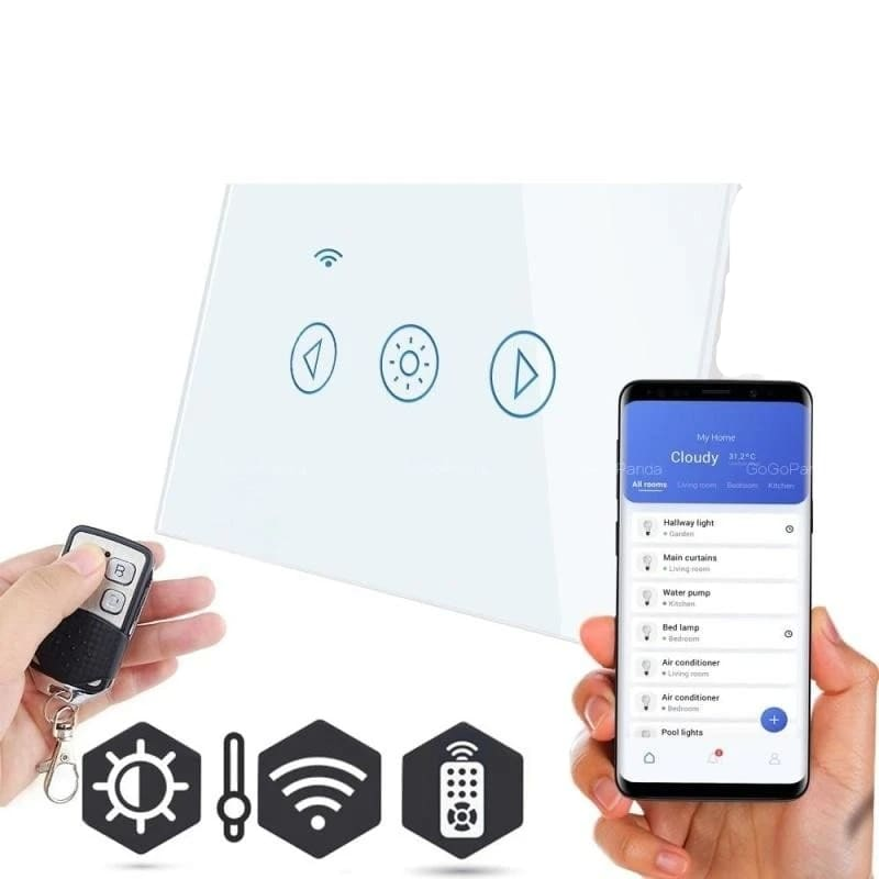 Smart switch for light - white / 433.92mhz - switches