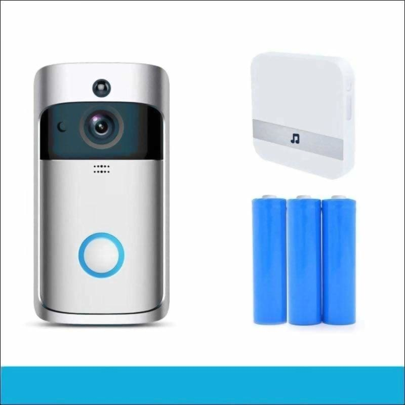 Smart wifi video doorbell - set3 - intercom