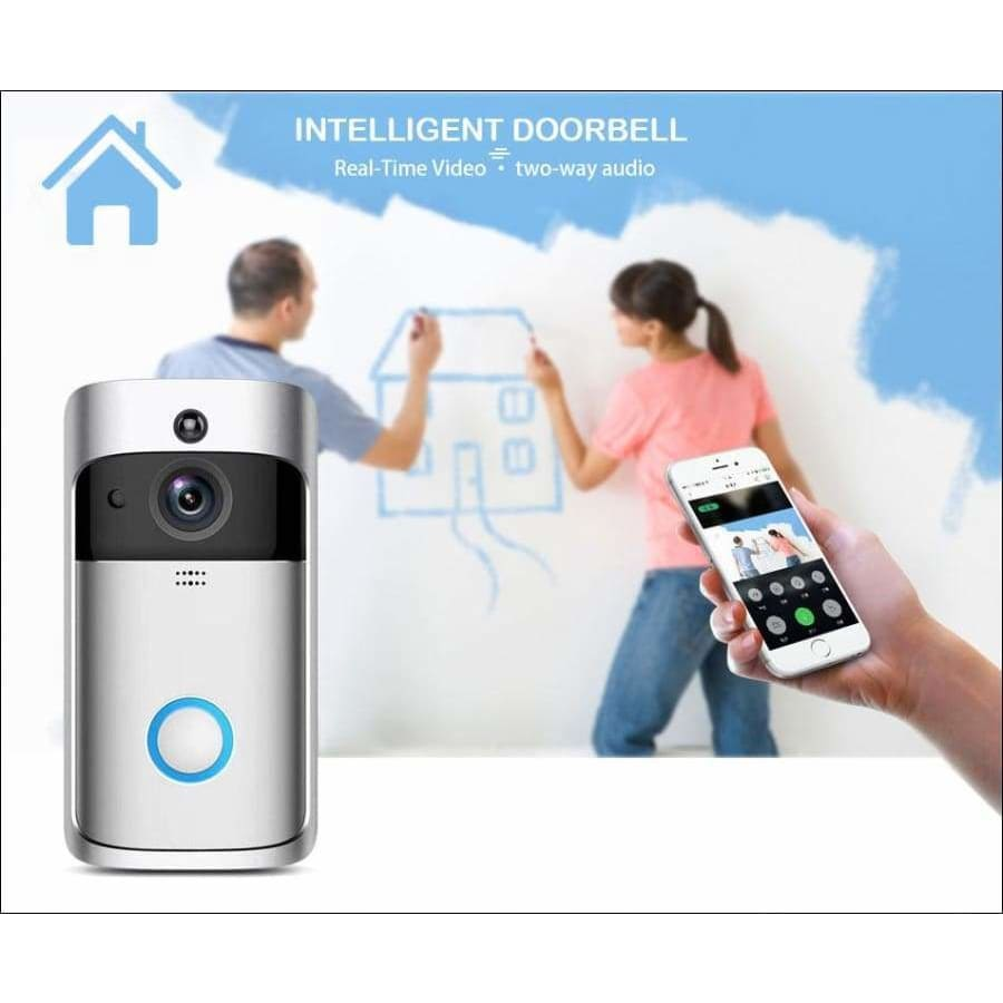 Smart wifi video doorbell - intercom