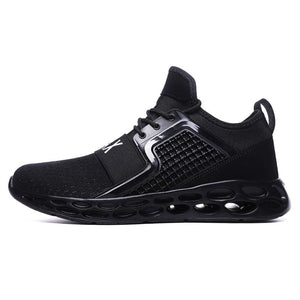 Sneakers breathable casual shoes - black1 / 11.5 - men's