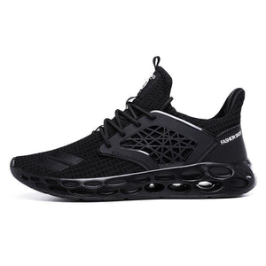 Sneakers breathable casual shoes - black2 / 11.5 - men's