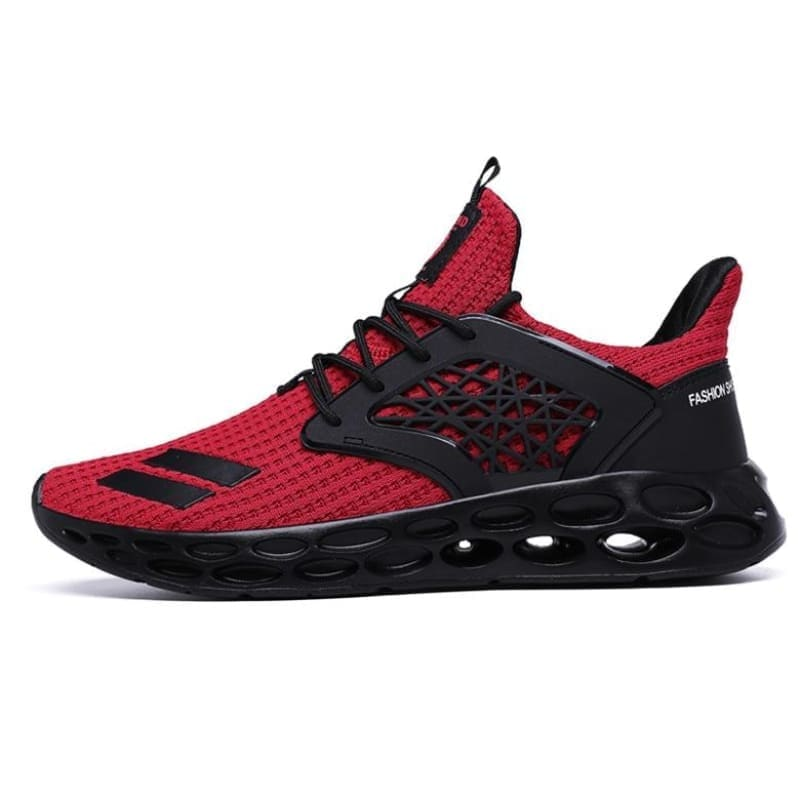 Sneakers breathable casual shoes - red2 / 11.5 - men's