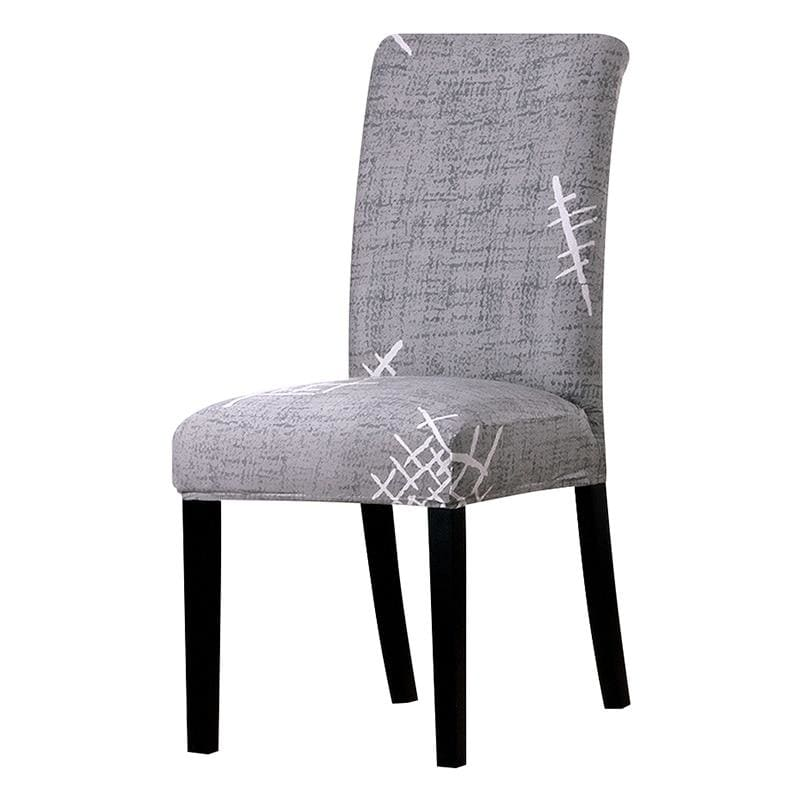 Stretchable printed chair cover - k072 / universal size -