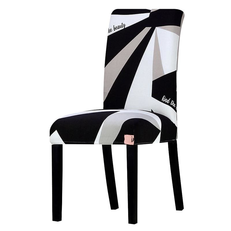 Stretchable printed chair cover - k209 / universal size -