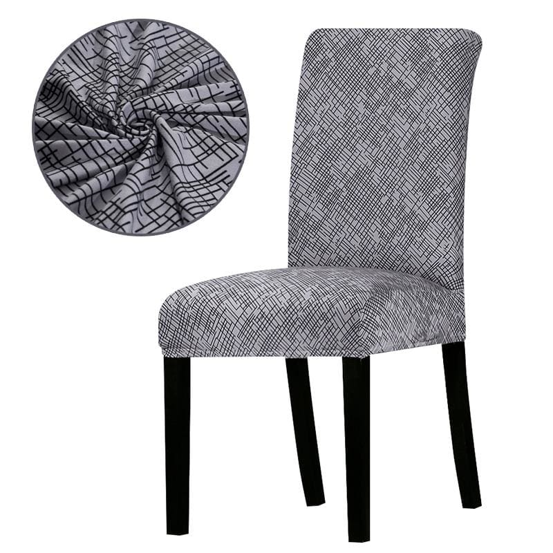 Stretchable printed chair cover - k229 / universal size -