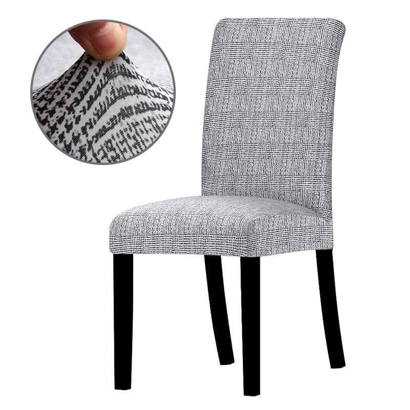Stretchable printed chair cover - k238 / universal size -