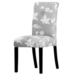 Stretchable printed chair cover - k269 / universal size -