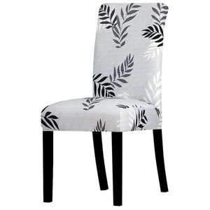 Stretchable printed chair cover - k378 / universal size -
