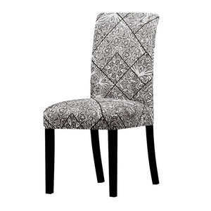 Stretchable printed chair cover - k713 / universal size -