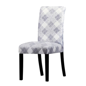 Stretchable printed chair cover - k714 / universal size -