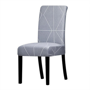 Stretchable printed chair cover - k794 / universal size -
