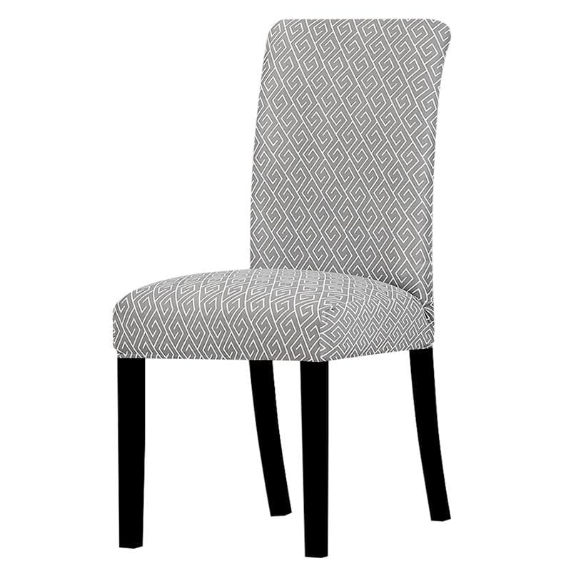 Stretchable printed chair cover - slipcover