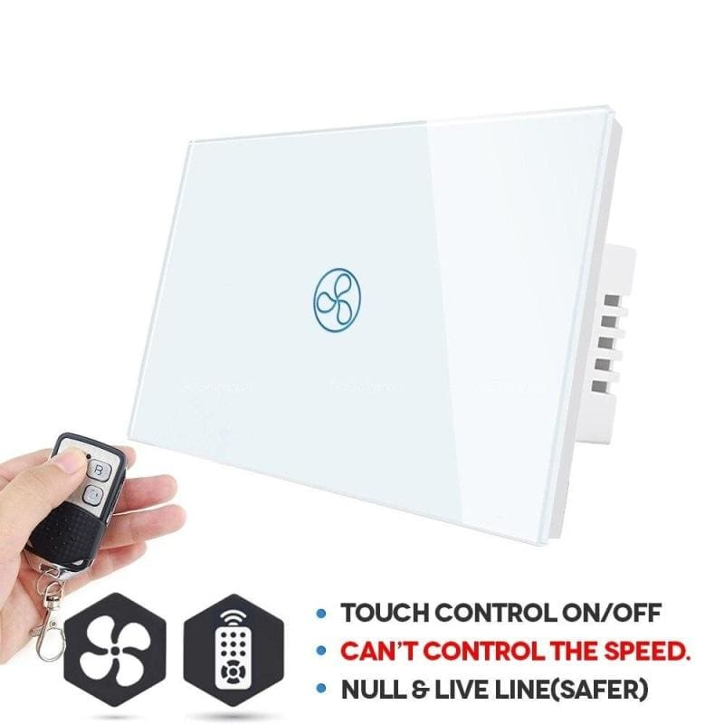 Wall hanging fan remote switch - smart switches